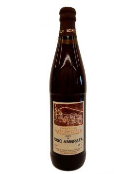 Birra Artigianale al Riso Ambrata - Birreria Vallecellio 33 CL