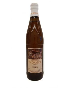 Birra Artigianale al Riso - Birreria Vallecellio  33 CL