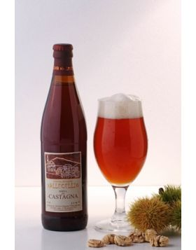 Birra Artigianale alla Castagna - Birreria Vallecellio Cl 33